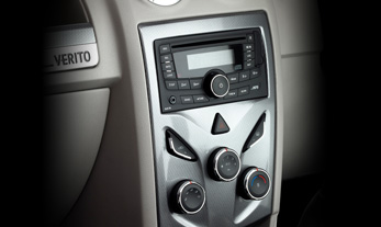 Mahindra Verito Comfort Features - Music System